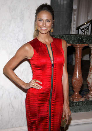 Stacy Keibler at the Independent School Alliance For Minority Affairs Impact Awards Dinner held at the Four Seasons Hotel in Beverly Hills, USA on March 17, 2015.