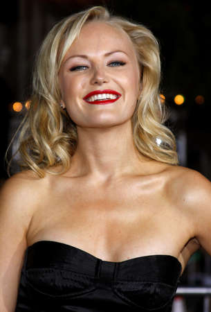 heartbreak: Malin Akerman at the Los Angeles premiere of The Heartbreak Kid held at the Mann Village Theater in Westwood, USA on September 27, 2007. Editorial