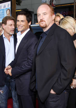 rob: Louis C.K. and Rob Lowe at the Los Angeles premiere of The Invention of Lying held at the Graumans Chinese Theater in Hollywood, USA on September 21, 2009. Editorial