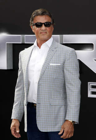 sylvester: Sylvester Stallone at the Los Angeles premiere of Terminator Genisys held at the Dolby Theatre in Hollywood, USA on June 28, 2015.