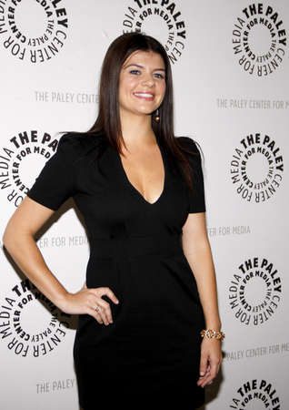 casey: Casey Wilson at the Paley Center For Media Presents An Evening With Happy Endings held at the Paley Center for Media in Beverly Hills on August 29, 2011 Editorial
