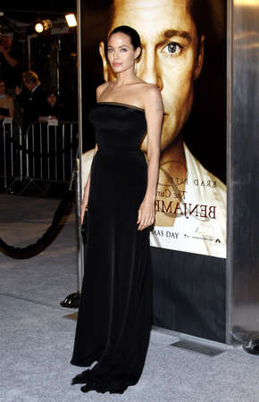 angelina jolie: Angelina Jolie at the Los Angeles premiere of The Curious Case Of Benjamin Button held at the Manns Village Theater  in Westwood on December 8, 2008.