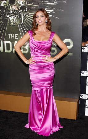 charisma: Charisma Carpenter at the Los Angeles premiere of The Expendables 2 held at the Graumans Chinese Theatre in Hollywood on August 15, 2012.