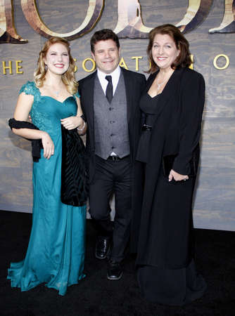desolation: Sean Astin at the Los Angeles premiere of The Hobbit: The Desolation Of Smaug held at the Dolby Theatre in Los Angeles, USA on December 2, 2013. Editorial