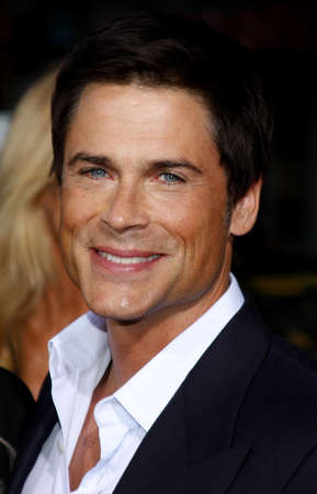 rob: Rob Lowe at the Los Angeles premiere of The Invention of Lying held at the Graumans Chinese Theater in Hollywood, USA on September 21, 2009. Editorial