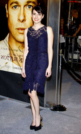 roberts: Emma Roberts at the Los Angeles premiere of The Curious Case Of Benjamin Button held at the Manns Village Theater  in Westwood on December 8, 2008.