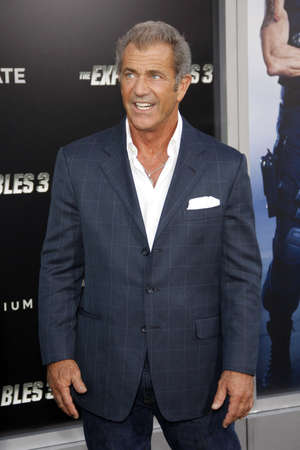 mel: Mel Gibson at the Los Angeles premiere of The Expendables 3 held at the TCL Chinese Theatre in Los Angeles, USA on August 11, 2014.