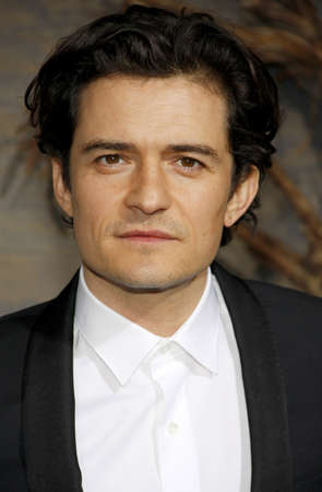 desolation: Orlando Bloom at the Los Angeles premiere of The Hobbit: The Desolation Of Smaug held at the Dolby Theatre in Los Angeles, USA on December 2, 2013. Editorial