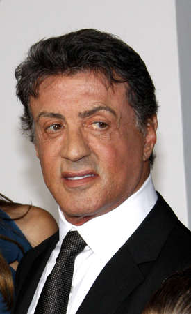 sylvester: Sylvester Stallone at the Los Angeles premiere of The Expendables 2 held at the Graumans Chinese Theatre in Hollywood on August 15, 2012. Editorial