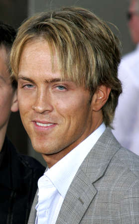 bourne: Larry Birkhead at the Los Angeles premiere of The Bourne Ultimatum held at the ArcLight Cinemas in Hollywood, USA on July 25, 2007.