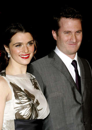 Darren Aronofsky and Rachel Weisz at the Los Angeles premiere of The Fountain held at the Graumans Chinese Theatre in Hollywood on November 11, 2006.
