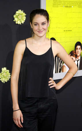 wallflower: Shailene Woodley at the Los Angeles premiere of The Perks Of Being A Wallflower held at the ArcLight Cinemas in Hollywood on September 10, 2012. Editorial