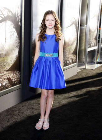 conjuring: Mackenzie Foy at the Los Angeles premiere of The Conjuring held at the Cinerama Dome in Hollywood, USA on July 15, 2013.