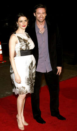 hugh: Hugh Jackman and Rachel Weisz at the Los Angeles premiere of The Fountain held at the Graumans Chinese Theatre in Hollywood on November 11, 2006.