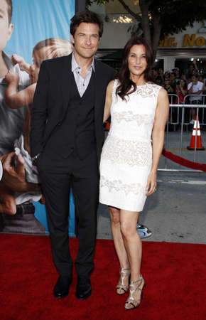 amanda: Jason Bateman and Amanda Anka at the Los Angeles premiere of The Change-Up held at the Regency Village Theatre in Westwood on August 1, 2011.