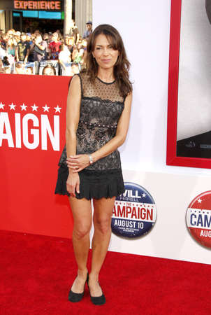 Susanna Hoffs at the Los Angeles premiere of Campaign held at the Graumans Chinese Theater in Hollywood, USA on August 2, 2012.