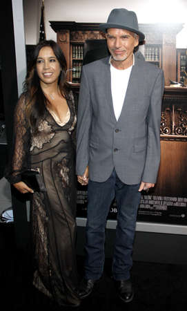 samuel: Connie Angland and Billy Bob Thornton at the Los Angeles premiere of The Judge held at the AMPAS Samuel Goldwyn Theater in Los Angeles, USA on October 1, 2014. Editorial