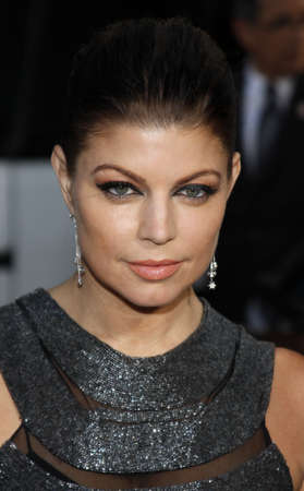 Fergie at the Los Angeles premiere of X-Men Origins: Wolverine held at the Graumans Chinese Theatre in Hollywood on April 28, 2009.