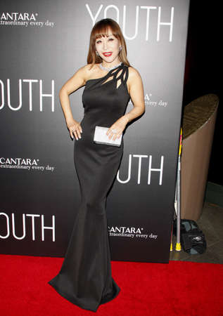sumi: Sumi Jo at the Los Angeles premiere of Youth held at the DGA Theatre in Hollywood, USA on November 17, 2015.