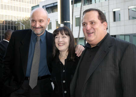 redemption: BEVERLY HILLS, CA - SEPTEMBER 23, 2004: Frank Darabont, Frank Medrano and Niki Marvin at the 10th Anniversary Screening of The Shawshank Redemption held at the AMPAS in Beverly Hills, USA on September 23, 2004.