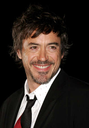 Robert Downey Jr. at the Los Angeles premiere of Zodiac held at the Paramount Pictures Studios in Hollywood, USA on March 1, 2007.