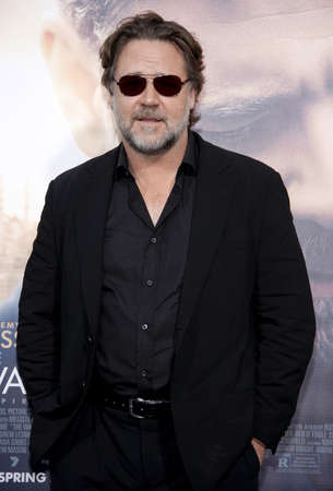 diviner: Russell Crowe at the Los Angeles premiere of The Water Diviner held at the TCL Chinese Theatre IMAX in Hollywood, USA on April 16, 2015.