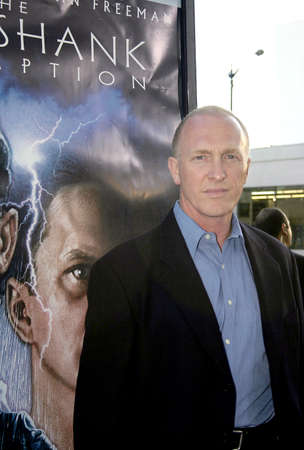 redemption: BEVERLY HILLS, CA - SEPTEMBER 23, 2004: Mark Rolston at the 10th Anniversary Screening of The Shawshank Redemption held at the AMPAS in Beverly Hills, USA on September 23, 2004. Editorial