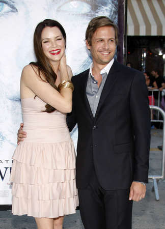 gabriel: Gabriel Macht and Jacinda Barrett at the Los Angeles premiere of Whiteout held at the Mann Village Theatre in Westwood on September 9, 2009.