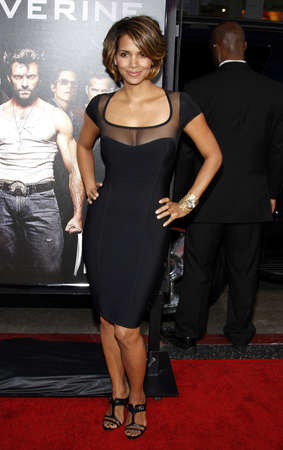 Halle Berry at the Los Angeles premiere of X-Men Origins: Wolverine held at the Graumans Chinese Theatre in Hollywood on April 28, 2009.