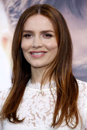 burrows: Saffron Burrows at the Los Angeles premiere of The Water Diviner held at the TCL Chinese Theatre IMAX in Hollywood, USA on April 16, 2015.
