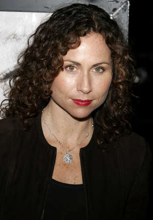 motion picture: Minnie Driver at the Los Angeles premiere of The Queen held at the Academy of Motion Picture Arts and Sciences in Beverly Hills, USA on October 3, 2006.