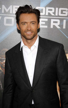 Hugh Jackman at the Los Angeles premiere of X-Men Origins: Wolverine held at the Graumans Chinese Theatre in Hollywood on April 28, 2009. Editorial