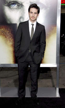 rite: Colin ODonoghue at the Los Angeles premiere of The Rite held at the El Capitan Theater in Hollywood, USA on January 26, 2010.