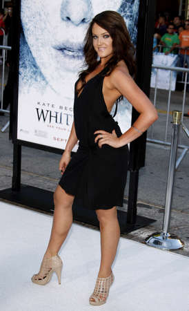 lacey: Lacey Schwimmer at the Los Angeles premiere of Whiteout held at the Mann Village Theatre in Westwood on September 9, 2009