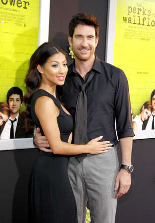 perks: Shasi Wells and Dylan McDermott at the Los Angeles premiere of The Perks Of Being A Wallflower held at the ArcLight Cinemas in Hollywood on September 10, 2012. Editorial