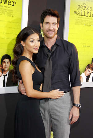 wallflower: Shasi Wells and Dylan McDermott at the Los Angeles premiere of The Perks Of Being A Wallflower held at the ArcLight Cinemas in Hollywood on September 10, 2012. Editorial