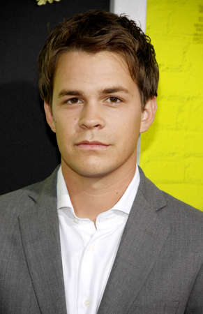 wallflower: Johnny Simmons at the Los Angeles premiere of The Perks Of Being A Wallflower held at the ArcLight Cinemas in Hollywood on September 10, 2012.