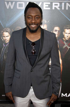 Will.i.am at the Los Angeles premiere of X-Men Origins: Wolverine held at the Graumans Chinese Theatre in Hollywood on April 28, 2009 Editorial