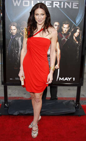 Lynn Collins at the Los Angeles premiere of X-Men Origins: Wolverine held at the Graumans Chinese Theatre in Hollywood on April 28, 2009.