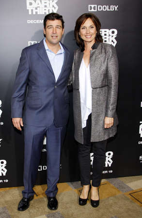 chandler: Kyle Chandler and Kathryn Chandler at the Los Angeles premiere of Zero Dark Thirty held at the Dolby Theatre in Hollywood on December 10, 2012. Editorial