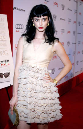 LOS ANGELES, CA - SEPTEMBER 08, 2009: Krysten Ritter at the Los Angeles premiere of The September Issue held at the LACMA in Los Angeles, USA on September 8, 2009.