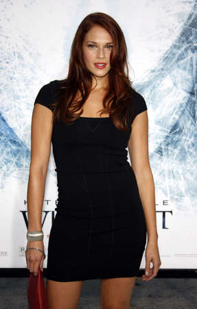 amanda: Amanda Righetti at the Los Angeles premiere of Whiteout held at the Mann Village Theatre in Westwood on September 9, 2009.