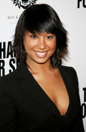 guild: Cheryl Burke at the Los Angeles premiere of Thank You For Smoking held at the Directors Guild of America in Hollywood on March 16, 2006. Editorial