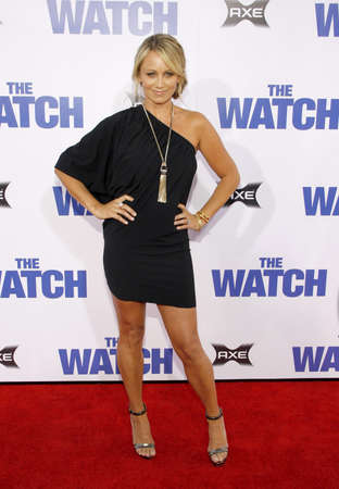 christine: Christine Taylor at the Los Angeles premiere of The Watch held at the Graumans Chinese Theatre in Hollywood, USA on July 23, 2012. Editorial