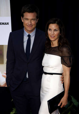 amanda: Jason Bateman and Amanda Anka at the Los Angeles premiere of The Switch held at the ArcLight Cinemas in Hollywood on August 16, 2010. Editorial