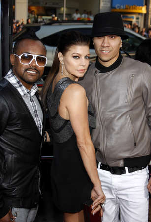 apl.de.ap, Fergie and Taboo at the Los Angeles premiere of X-Men Origins: Wolverine held at the Graumans Chinese Theatre in Hollywood on April 28, 2009.