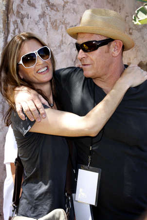 amanda: Corbin Bernsen and wife Amanda Pays attend the Simpsons Ride Opening Celebration Party held at the Universal Studios Hollywood in Universal City, California, United States on May 17, 2008. Editorial