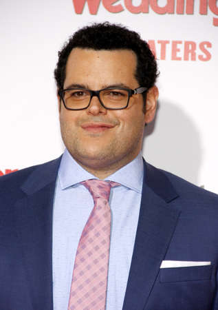 gad: Josh Gad at the Los Angeles premiere of The Wedding Ringer held at the TCL Chinese Theater in Hollywood, USA on January 6, 2015.