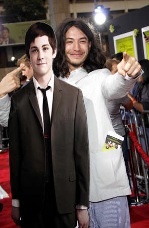 perks: Ezra Miller at the Los Angeles premiere of The Perks Of Being A Wallflower held at the ArcLight Cinemas in Hollywood, USA on September 10, 2012.