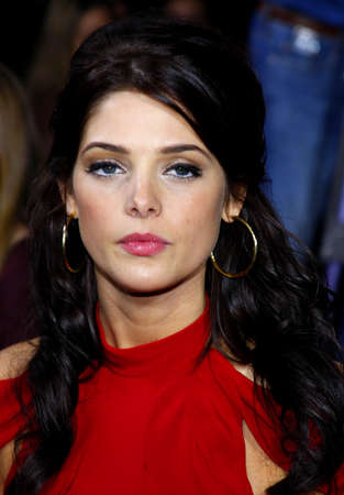 Ashley Greene at the Los Angeles premiere of The Twilight Saga: New Moon held at the Manns Village Theatre in Westwood, USA on November 16, 2009.